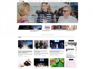 Fashionmag42 homepage screenshot