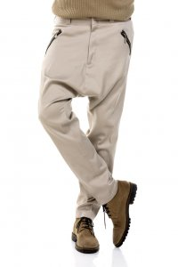 Enya trousers. Baggy styled, with fake zipp pockets.