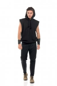 Hoodie boy - hoodie without sleeves - Sisters Code by SBC