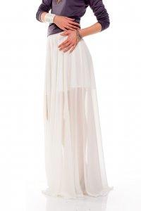Princess skirt, white maxi skirt - Sisters Code by SBC