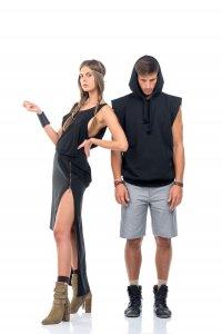 New zip skirt in black - Sisters Code by SBC