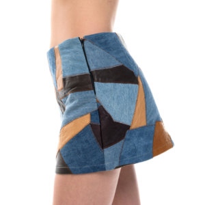 Patchwork bohemian mini skirt - Sisters Code by SBC
